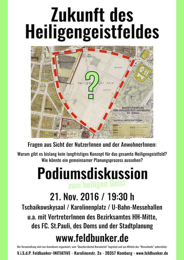 Veranstaltung Heiligengeistfeld